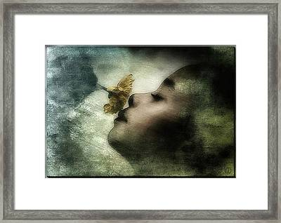 Carried Away By A Scent Framed Print