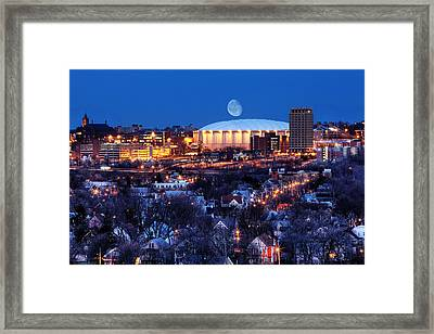 Carrier Dome Framed Print by Chris Babcock