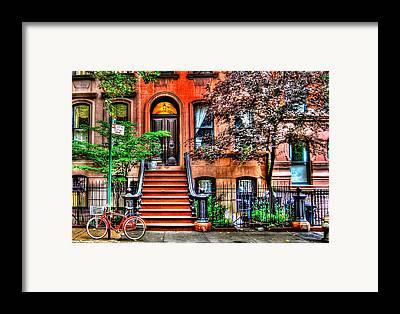 Greenwich Village Framed Prints