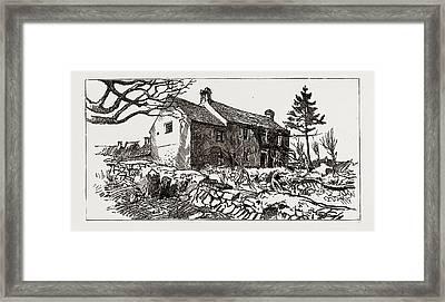 Carrigrohane Farm Framed Print