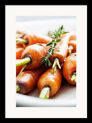 Carrots Framed Prints