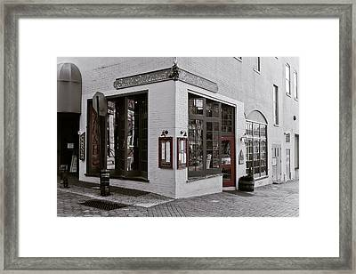 Carr's Restaurant  Framed Print