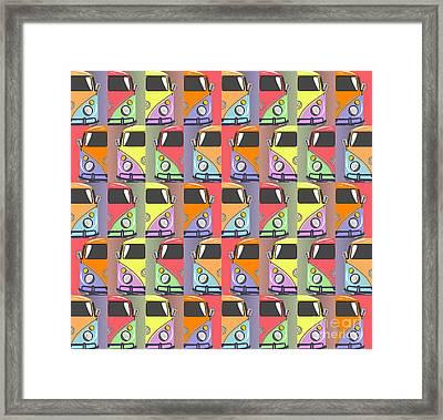 Cars Abstract  Framed Print by Mark Ashkenazi