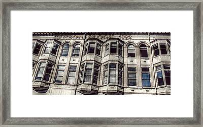 Carson Block Framed Print by Melanie Lankford Photography