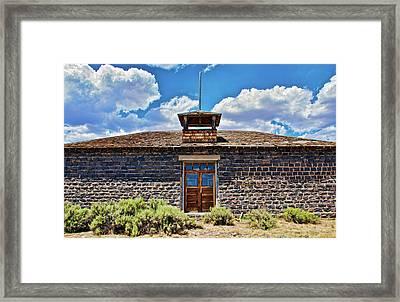 Framed Print featuring the photograph Mormon Church by Britt Runyon