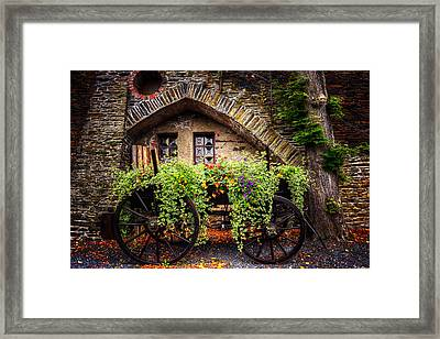 Cart Of Colors Framed Print by Ryan Wyckoff