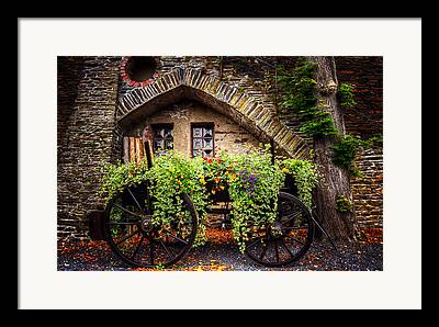 Wagon Framed Prints