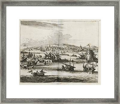 Cartagena Framed Print by British Library