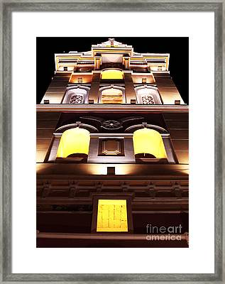 Cartagena Cathedral Framed Print by John Rizzuto