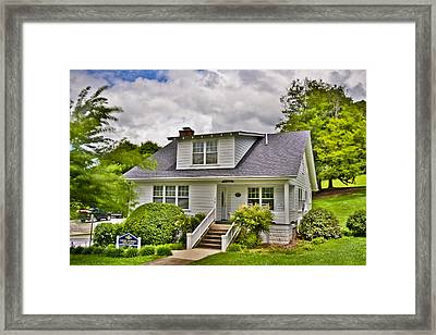Carter Humphrey Guest House Mars Hill College Framed Print by Ryan Phillips