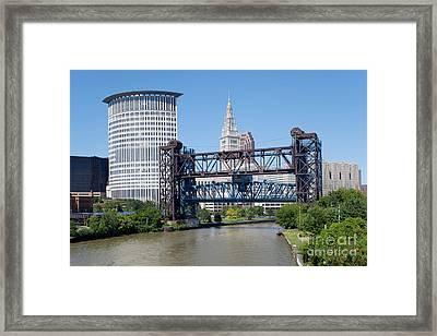 Carter Road Lift Bridge Framed Print by Bill Cobb