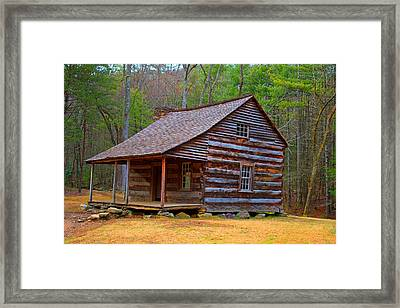 Carter Shields Cabin 2 Framed Print by Wild Expressions Photography
