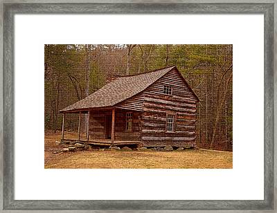 Carter Shields Cabin 3 Framed Print by Wild Expressions Photography