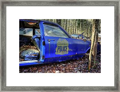 Cartersville Police Car Framed Print