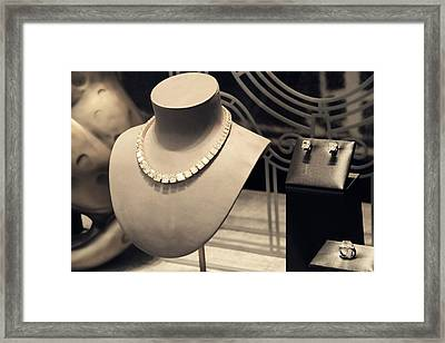 Cartier Jewelry Framed Print