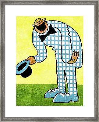 Cartoon 02 Framed Print by Svetlana Sewell