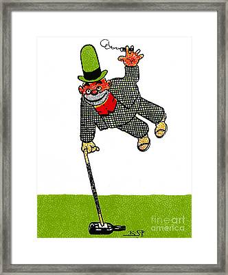 Cartoon 03 Framed Print by Svetlana Sewell