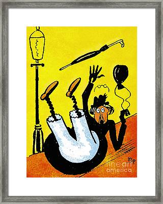 Cartoon 07 Framed Print by Svetlana Sewell