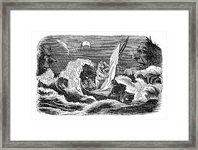 Cartoon Censorship, 1862 Framed Print