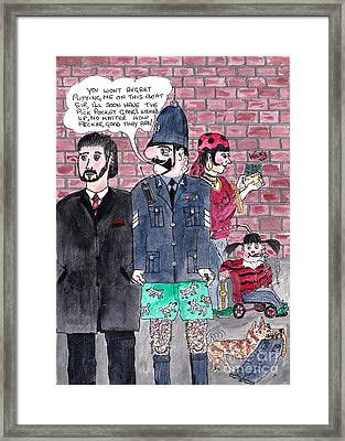 Cartoons Framed Print by Alan Wilkinson