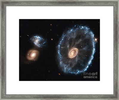 Cartwheel Galaxy Framed Print