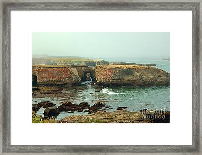 Carved In Stone Framed Print