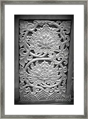 Carvings 3 Framed Print