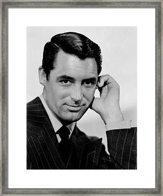 Cary Grant Framed Print by Celestial Images