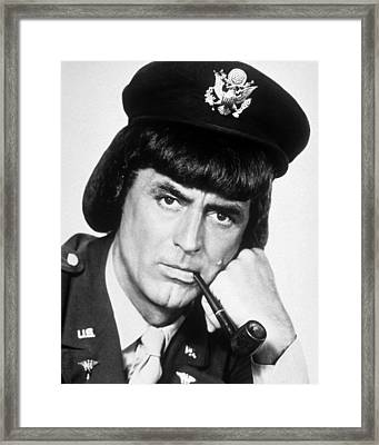 Cary Grant In I Was A Male War Bride  Framed Print by Silver Screen