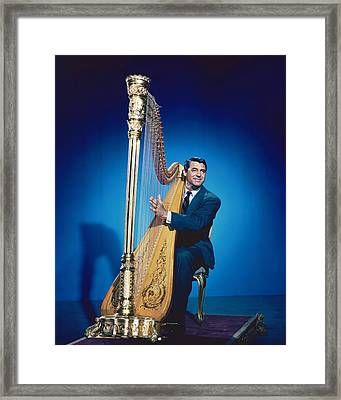 Cary Grant In The Bishop's Wife Framed Print