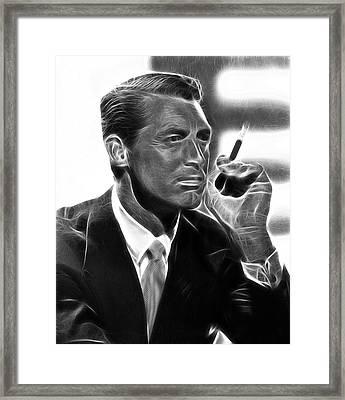 Cary Grant Framed Print by Doc Braham