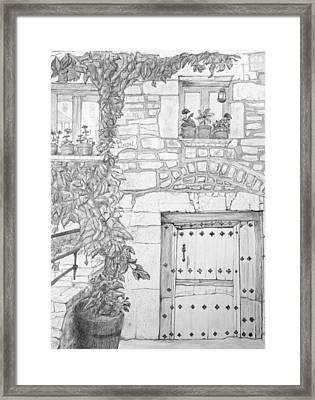 Casa Achon Framed Print