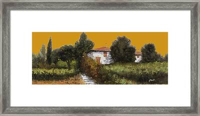 Casa Al Tramonto Framed Print