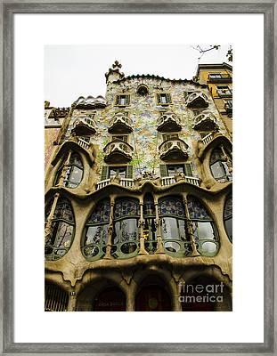 Casa Batllo Exterior Framed Print