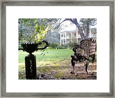 Casa Blanca Framed Print by Elbe Photography