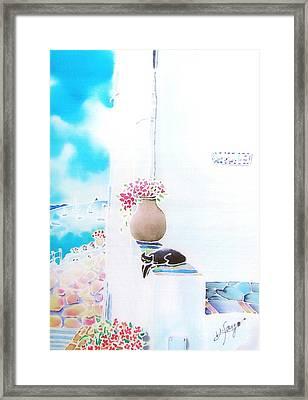 Casa Blanca Framed Print