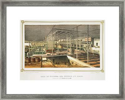 Casa De Caldera Framed Print by British Library