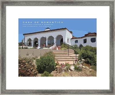 Casa De Romantica Framed Print