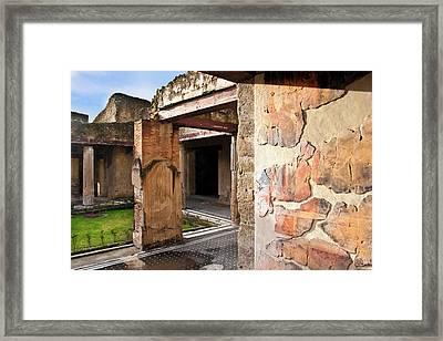 Casa Dei Cerv (house Of The Deer Framed Print