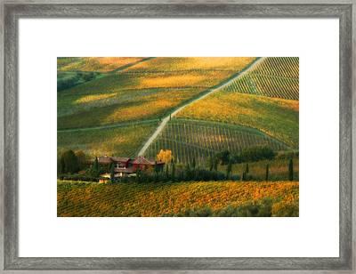 Casa Di Andrea Framed Print by John Galbo