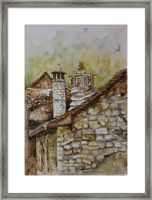 Casa En Alto Aragon Framed Print