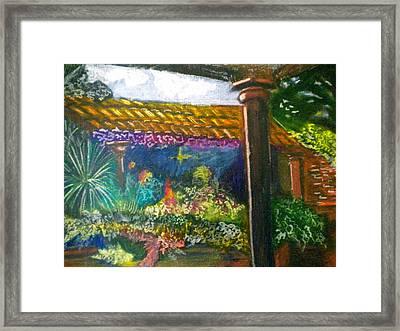 Casa Luna Framed Print