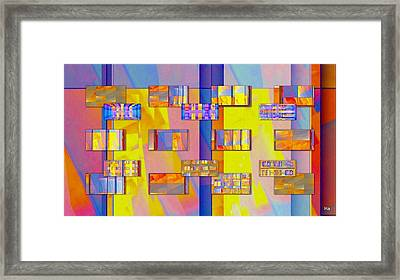 Casa-magica Framed Print by Halina Nechyporuk