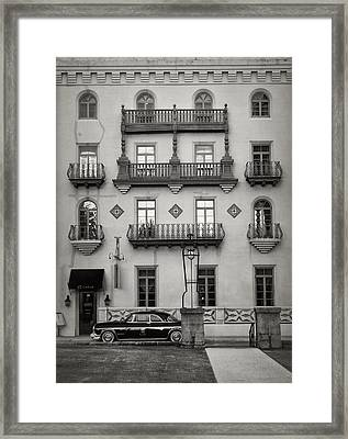 Casa Monica Framed Print