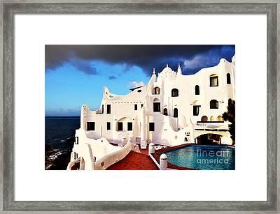 Casa Pueblo Al Mar Framed Print