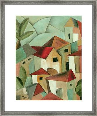 Casas I Framed Print