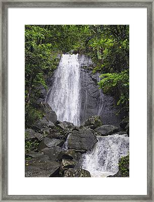Cascada Blanco Framed Print by Stephen Anderson