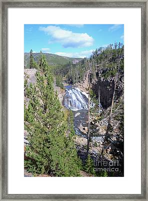 Cascade Canyon Framed Print by Kathleen Struckle
