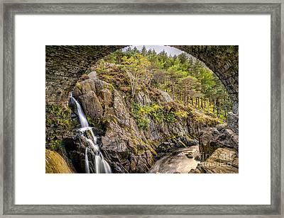 Cascade Creek Framed Print by Adrian Evans