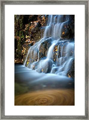 Cascade Falls #1 Framed Print